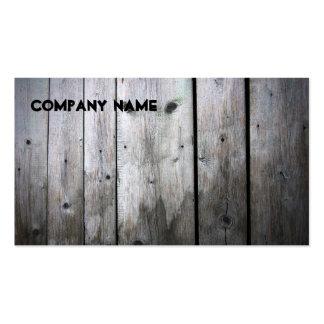 Carte de visite Wood Company