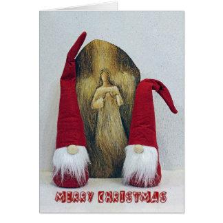 Carte de voeux adorable de Noël !