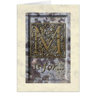 Carte de voeux capitale lumineuse de M