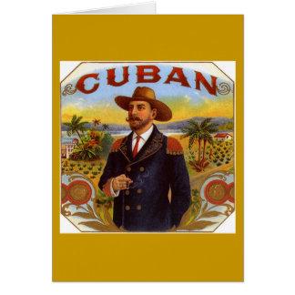 Carte de voeux culturelle cubaine