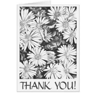 Carte de voeux customisée par fleur sauvage vide