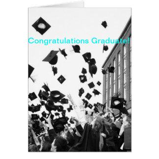 Carte de voeux d obtention du diplôme