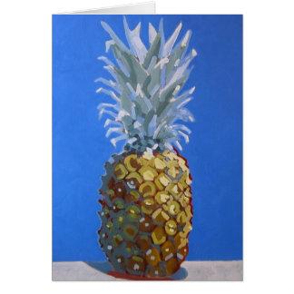 Carte de voeux d'ananas de Tutti-Frutti/invitation