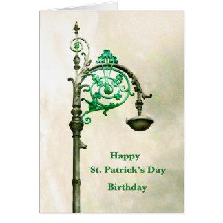 Carte de voeux d'anniversaire du jour de Patrick d