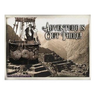 Carte de voeux d'aventure