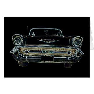 Carte de voeux de Bel Air de 57 Chevy