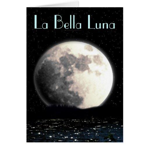 Carte de voeux de Bella Luna de La