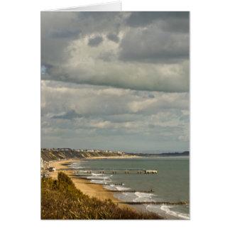 Carte de voeux de Bournemouth