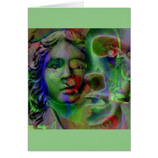 Carte de voeux de cauchemar (vert)…