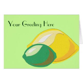 Carte de voeux de Citron-Chaux