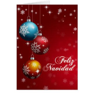 Carte de voeux de Feliz Navidad