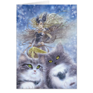 Carte de voeux de Freyja