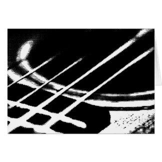 Carte de voeux de guitare
