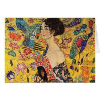 Carte de voeux de Gustav Klimt