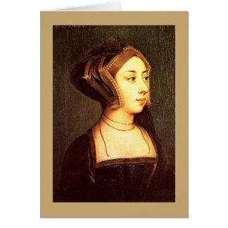 Carte de voeux de Henry VIII d'épouse d'Anne
