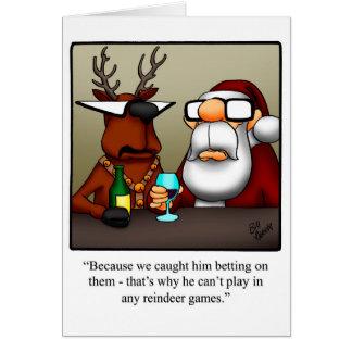 Humour de no l en cartes humour de no l en cartes de v ux for Carte de voeux humour
