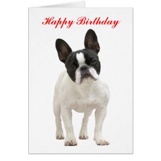 Carte de voeux de joyeux anniversaire de