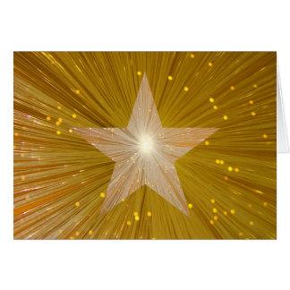"""Carte de voeux de """"joyeux anniversaire"""" d'étoile"""