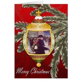 Carte de voeux de Joyeux Noël