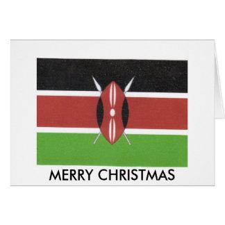 carte de voeux de kenyan