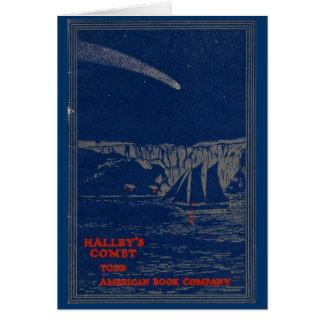 """Carte de voeux """"de la COMÈTE de HALLEY"""""""