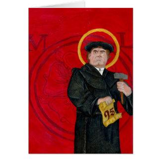 Carte de voeux de Martin Luther