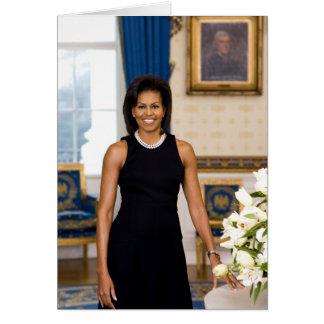 Carte de voeux de Michelle Obama