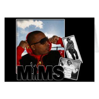 Carte de voeux de MIMS - album photos