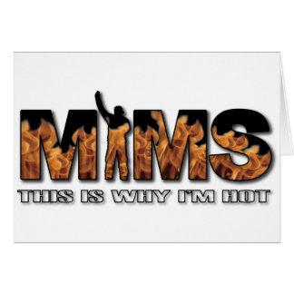 Carte de voeux de MIMS - c est pourquoi je suis lo