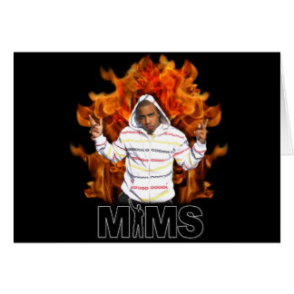 Carte de voeux de MIMS - flamme éternelle