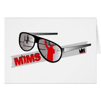 Carte de voeux de MIMS - nuances - exclusivité