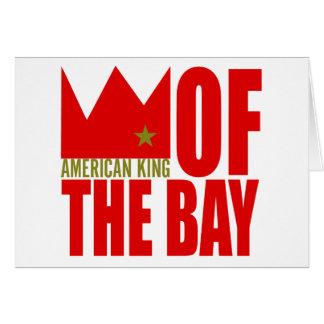 Carte de voeux de MIMS - roi américain de la baie