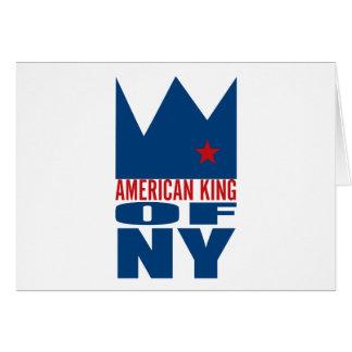Carte de voeux de MIMS - roi américain de NY