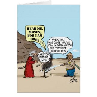 Carte de voeux de Moïse et d'ours de Smokey