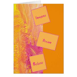 Carte de voeux de motivation