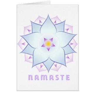Carte de voeux de Namaste