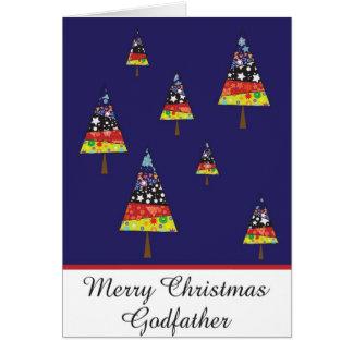 carte de voeux de Noël de parrain