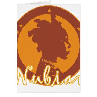 Carte de voeux de Nubian