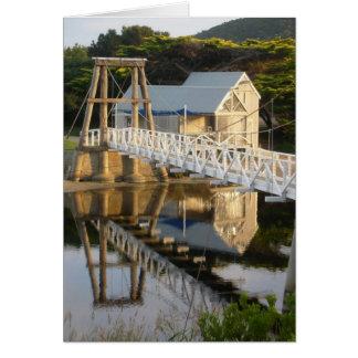 Carte de voeux de pont d'Erskine