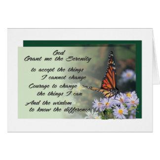 carte de voeux de prière de sérénité 10