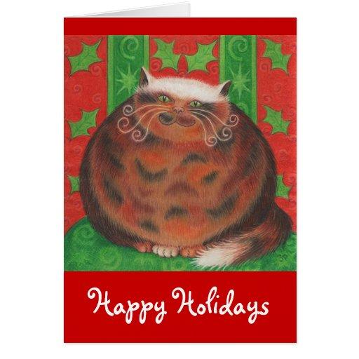 Carte de voeux de Pud de Noël