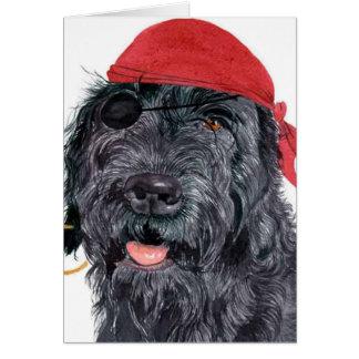 Carte de voeux de Ralph de pirate