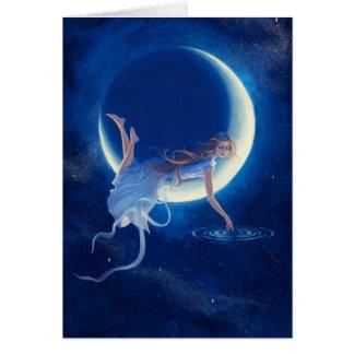 Carte de voeux de rêveur