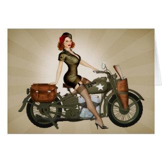 Carte de voeux de sergent Davidson Motorcycle Pinu