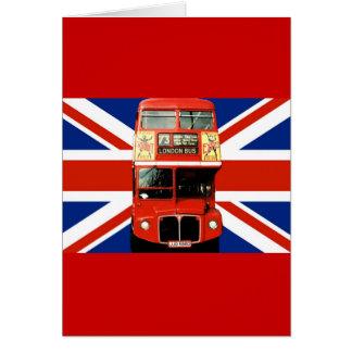 Carte de voeux de souvenir de Londres Angleterre