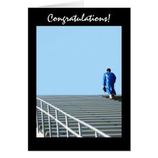 Carte de voeux de succès d'obtention du diplôme