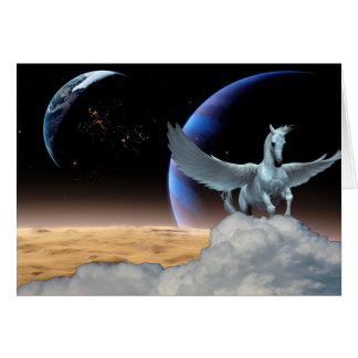Carte de voeux de Tout-Occasion de Pegasus, de