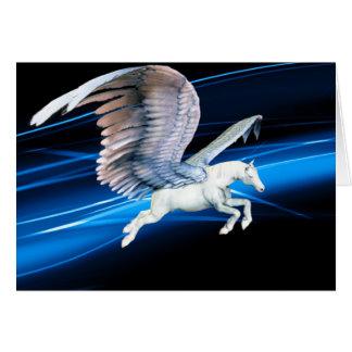 Carte de voeux de vol de Pegasus