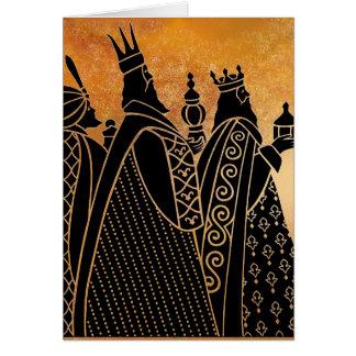 Carte de voeux de Wisemen