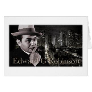 Carte de voeux d'Edouard G Robinson